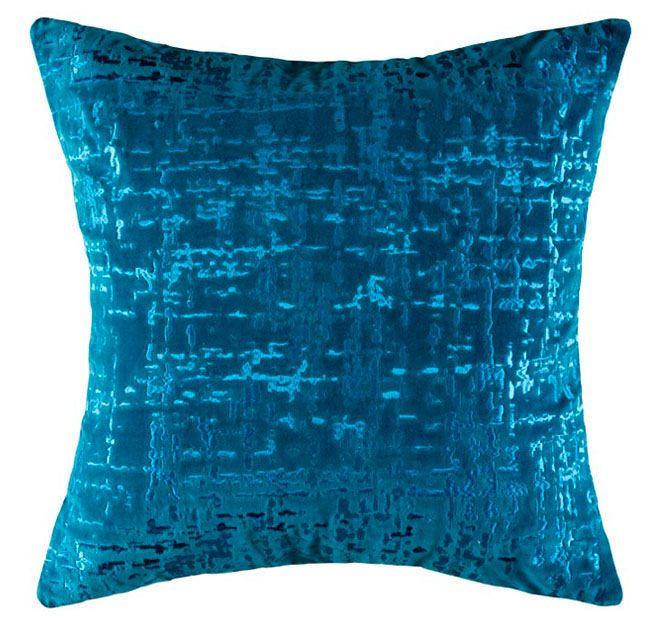 Kas Tweed 45x45cm Filled Cushion Blue