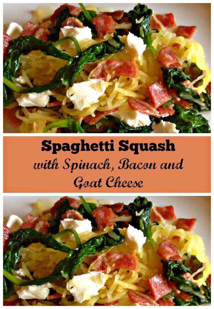 squash meal spag squash squash bacon spaghetti squash bacon goat it s ...