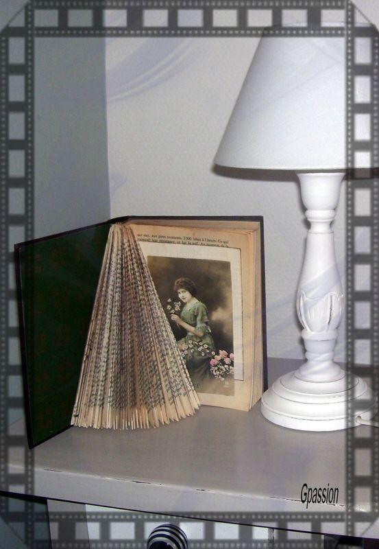 les 8 meilleures images du tableau pliage de livres sur pinterest vieux livres livres. Black Bedroom Furniture Sets. Home Design Ideas