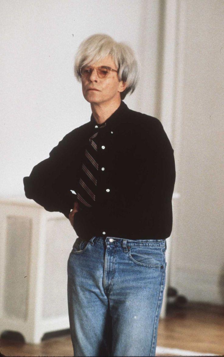 David BowieDavid Bowie as Andy Warhol in the new 1996 movie 'Basquiat'Miramx Films/Getty