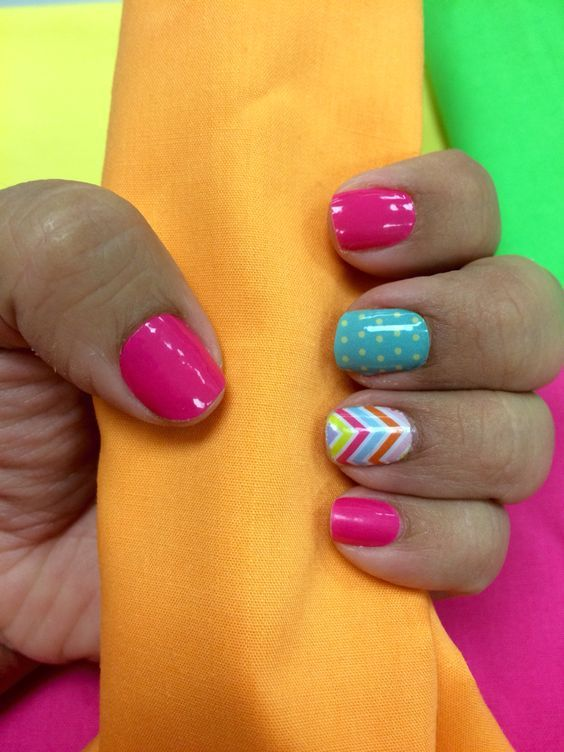 Jamberry candy chevron, haute pink! Order yours today at https://Kirstenmarr.jamberry.com