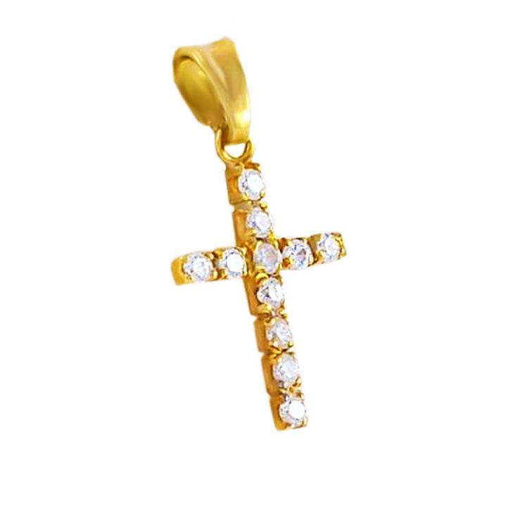 ΣΤ334Τ -Χρυσός σταυρός