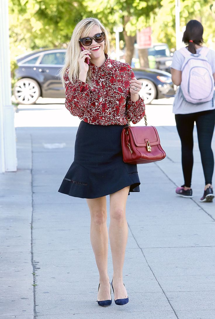 Reese Witherspoon Makes Boho Dressing Office-Appropriate – Vogue