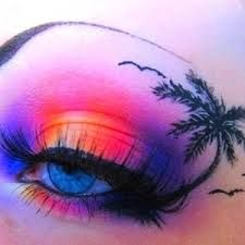Image result for cool eye makeup