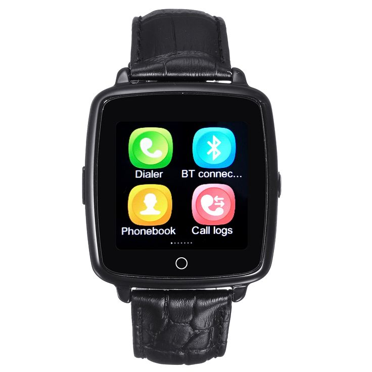 Bluetooth Smart Watch with 0.3MP Camera and Independent
