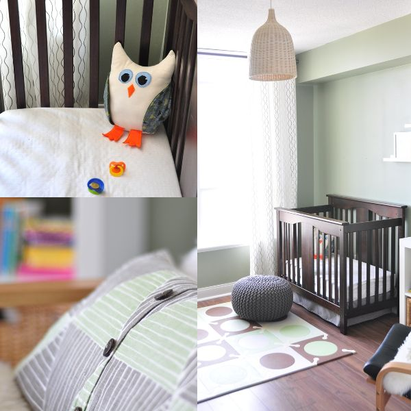 Green And Brown Owl Themed Nursery Posting This For Link To Playmat
