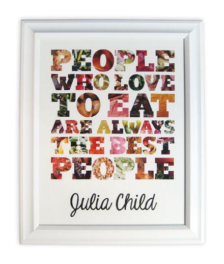 Julia Child.