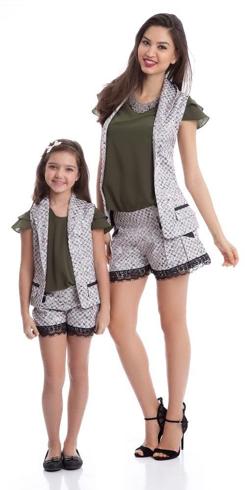 Colete Trend Adulto   OLIVIAS TAL MÃE E FILHA   Olivias #mãe e filha iguais