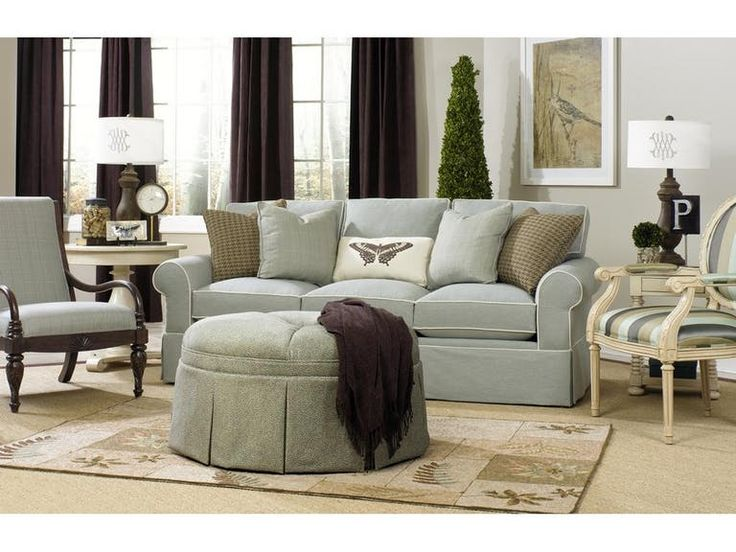 Paula Deen By Craftmaster Living Room Three Cushion Sofa P992050BD   Tyndall  Furniture Galleries, INC