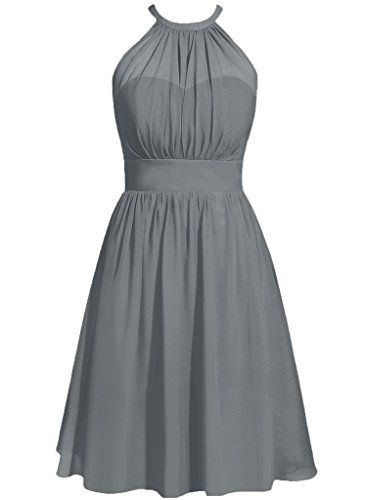 Cdress Halter Short Chiffon Bridesmaid Prom Dresses Wedding Party Guest Gowns Steel_Grey US 6 Cdress http://www.amazon.com/dp/B01A9WVECG/ref=cm_sw_r_pi_dp_H5sLwb1GRH58K