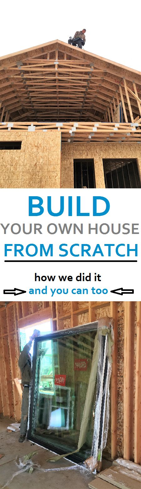 Super detailed! Build your own house from scratch. How we did it with no experience, saved thousands, and how you can do it too! Step by step instructions to build your own or be your own general contractor.