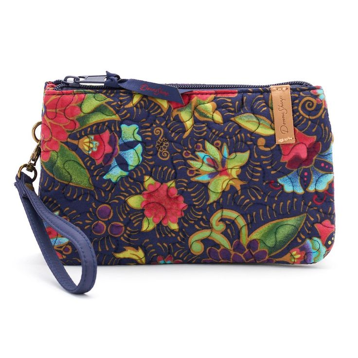 Donna Sharp Quilted Organizer Wristlet, Women's, Multicolor
