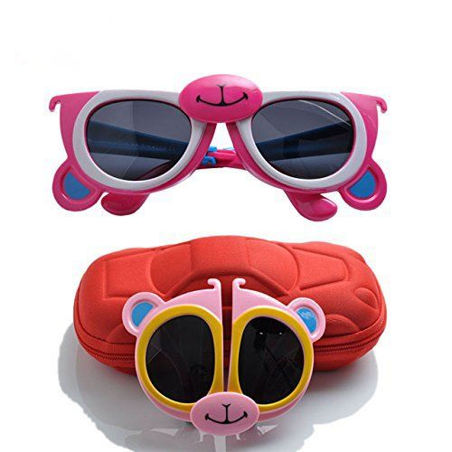 KIDS-Folding-Sunglasses-Goggle-Cartoon-Animal-Shape-Best-RETURN-GIFT-FOR-Birthday-Party-SET-12-and-12-Birthday-Printed-Bags-Free