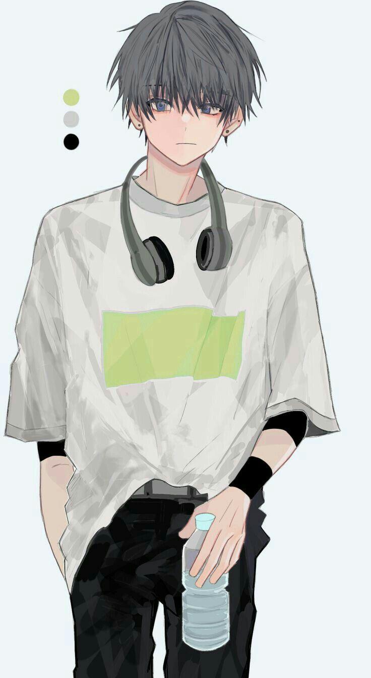 Anime Boy Ilustrasi Komik Ilustrasi Karakter Kartun