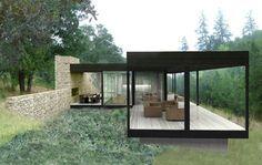 ¿Vas a construirte una casa? ¿qué te parecería sustituir las paredes por ventanas de aluminio?