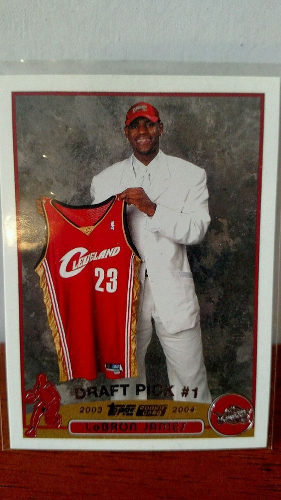 Lebron James Rookie Card Topps #221