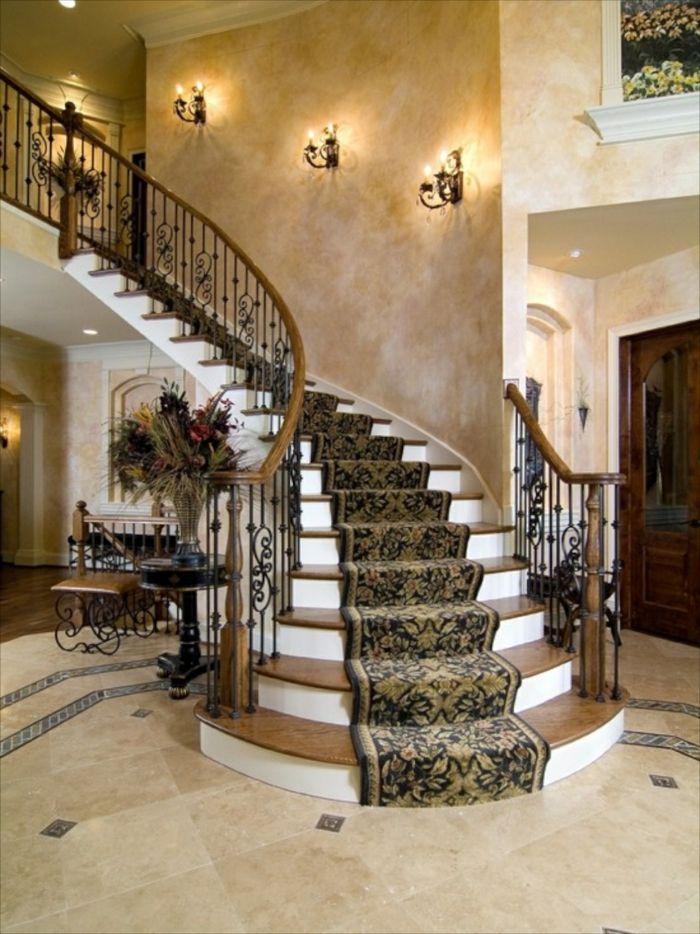 1001 ideen f r treppenhaus dekorieren zum entnehmen einrichten stairs home decor und - Deko treppenhaus ...