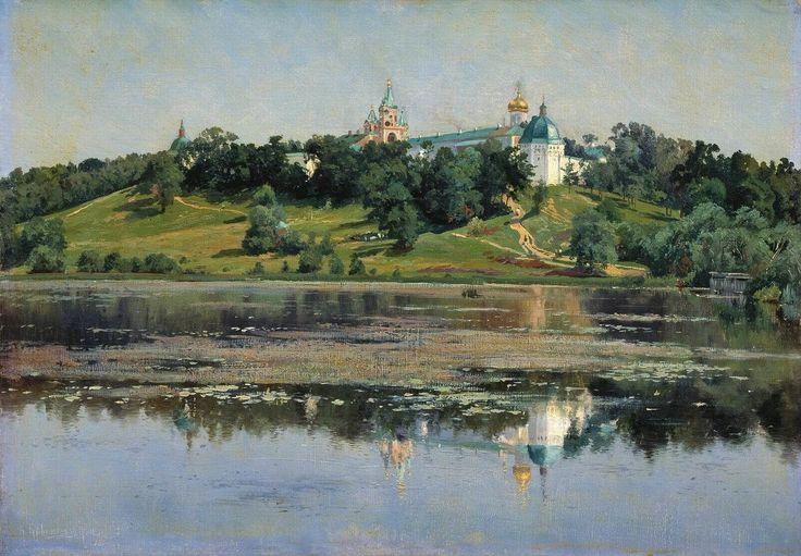 """Крыжицкий Константин Яковлевич (1858-1911 г.),  """"Звенигород"""" 1895 г."""