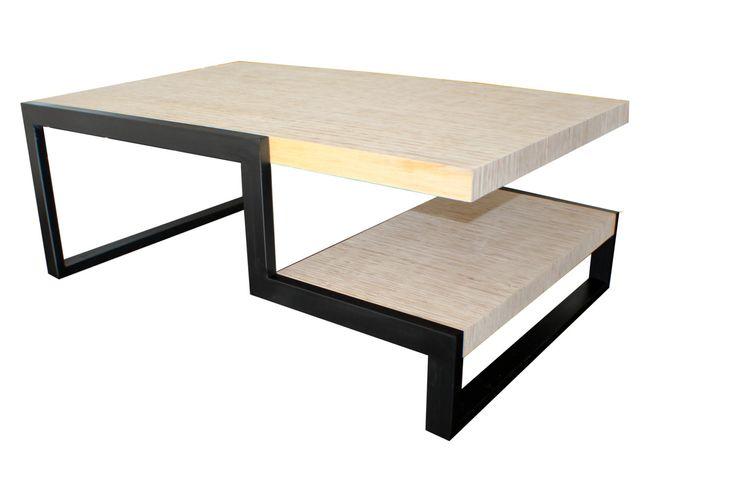 Two layer Coffee Table door MKinteriorDesign op Etsy