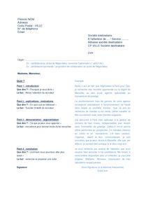 44 best cv lettre de motivation images on pinterest resume cv