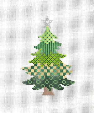 18-993D Bright Christmas Tree D