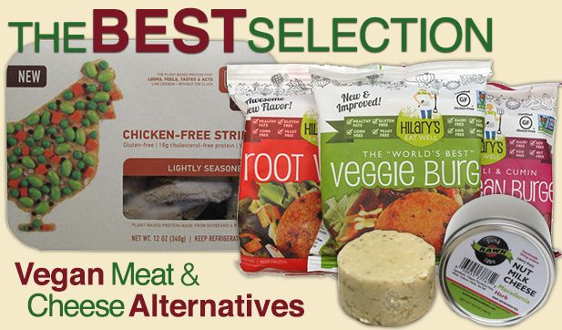 """Incredible website, """"Vegan Essentials"""" from food items to home cleaning products. Also, ridiculous line of vegan """"cheeses."""""""