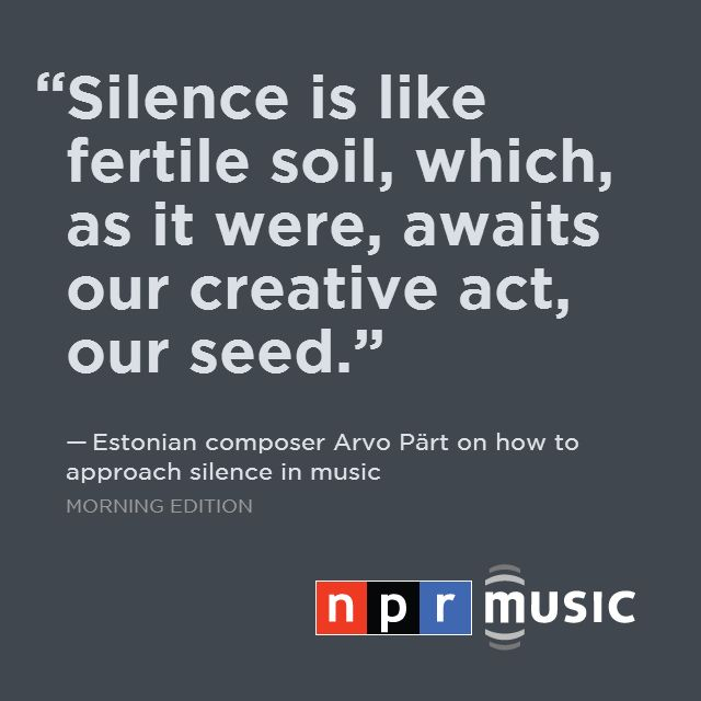 Hear a rare interview with composer Arvo Part, and stream a live concert from The Metropolitan Museum of Art, New York tonight at 7:00 pm EST. http://n.pr/1rDpDaj