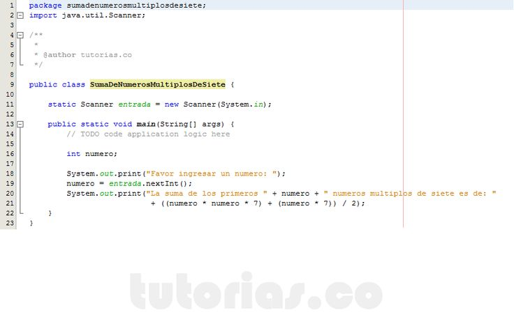 http://tutorias.co/operadores-java-suma-de-numeros-multiplos-de-siete/
