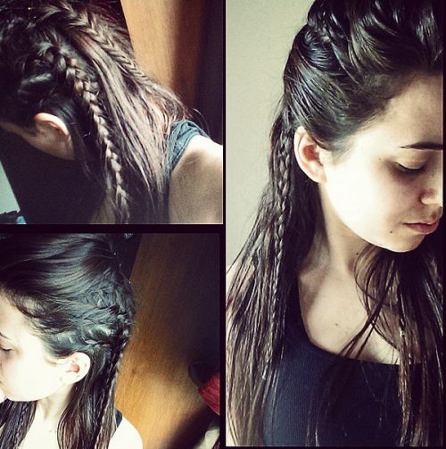 great haircuts 11 best images about the 100 on side braid 1156