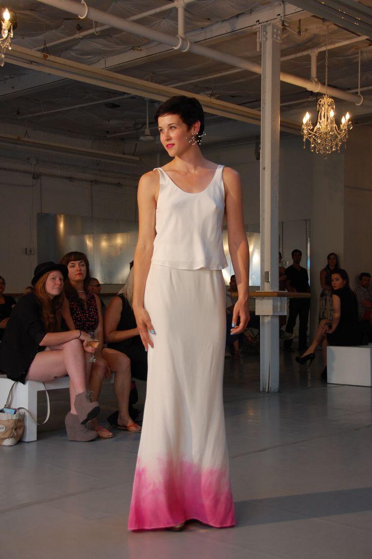 Ombre wedding dress  www.andforlove.com