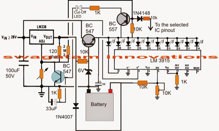 The post explains an automatic battery circuit which can be used for charging 1.5V, 3V, 6V, 9V, 12V and 24V batteries.