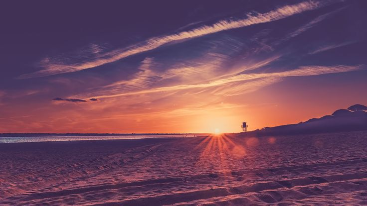 https://flic.kr/p/Lf6oYn   Sunset at the beach   El Portil - Huelva - Spain