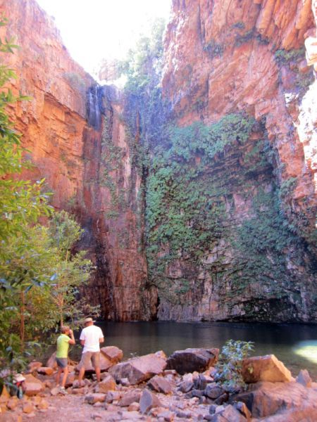 Emma Gorge is a gorgeous place to hike, swim and take photographs, of course.