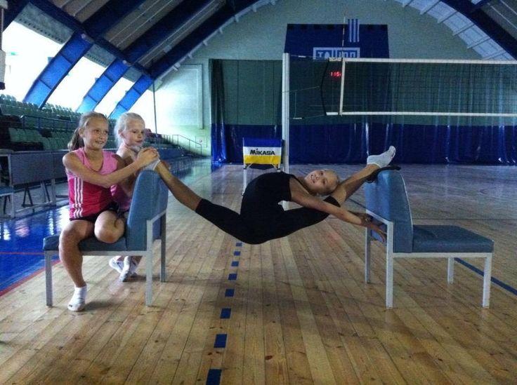 Oversplit Of Johanna Peterson Estonia Gymnastics