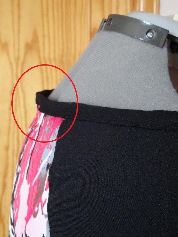 yo elijo coser: Truco para arreglar un escote desbocado sin descoser