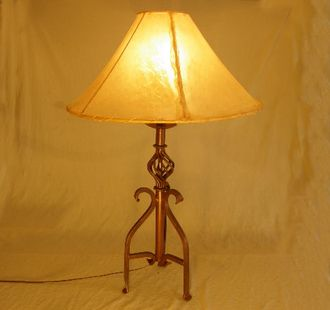 "Wrought Iron Southwestern Table Lamp 30"""" -Canyon"