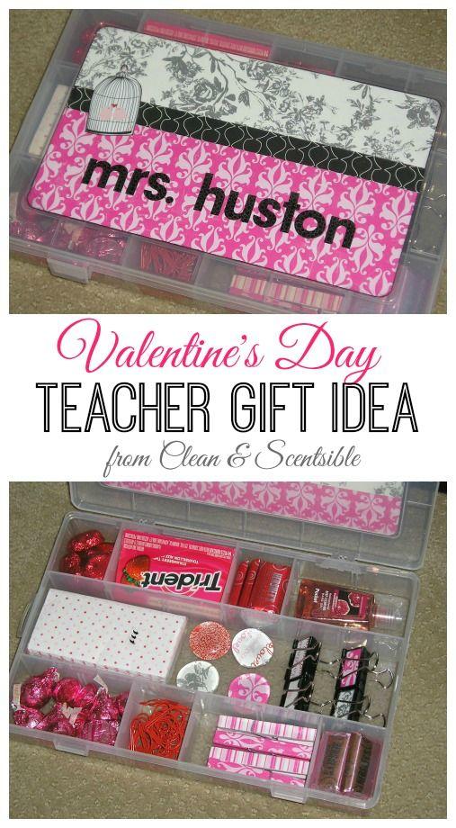 Fun Valentine's Day teacher gift.