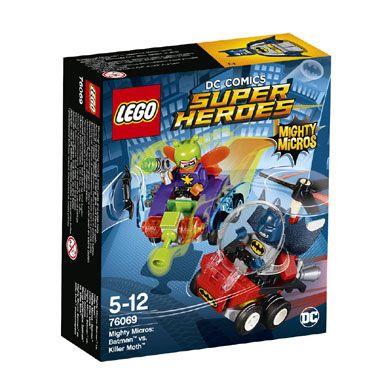 LEGO Marvel Super Heroes Mighty Micros: Batman vs. Killer Moth 76069  Laat Batman en Killer Moth het tegen elkaar opnemen met deze LEGO Marvel Super Heroes Mighty Microsspeelset. LEGO-nr. 76069  EUR 10.99  Meer informatie