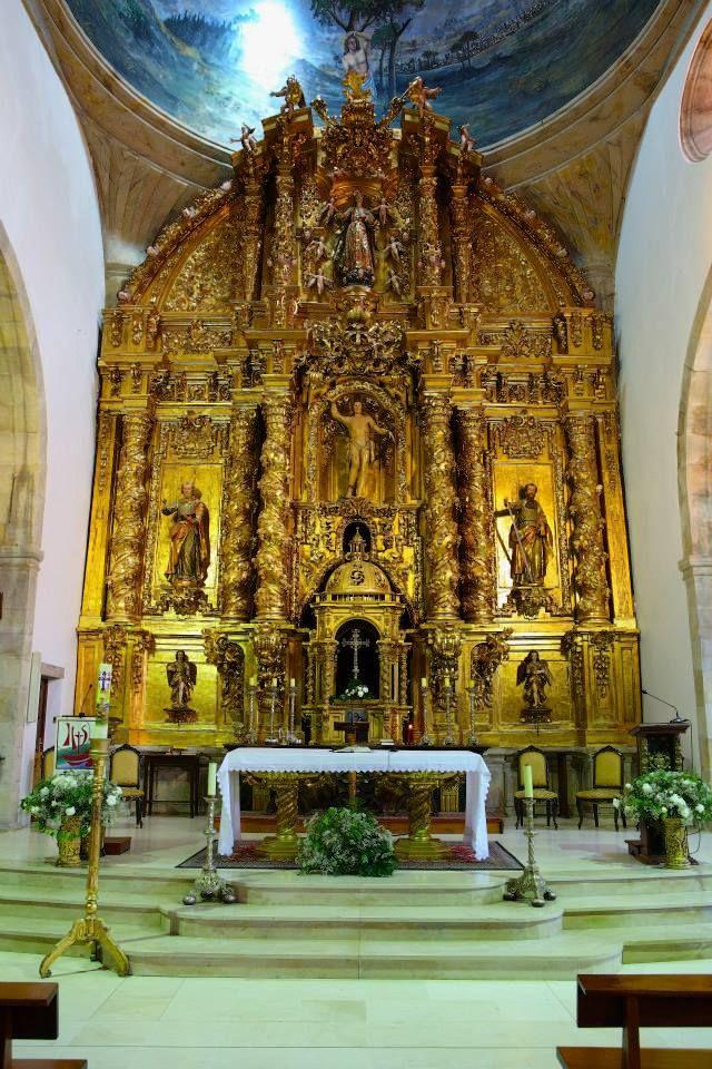 Iglesia de San Sebastián de Reinosa | Sur de Cantabria El templo parroquial de San Sebastián de Reinosa es el mejor ejemplo de la arquitectura barroca en el Sur de Cantabria y uno de los más destacados de este estilo dentro de Cantabria.