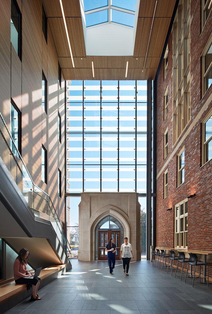 Gallery Of Vanderbilt University School Of Nursing Hastings Architecture 12 University Architecture Vanderbilt University Architecture
