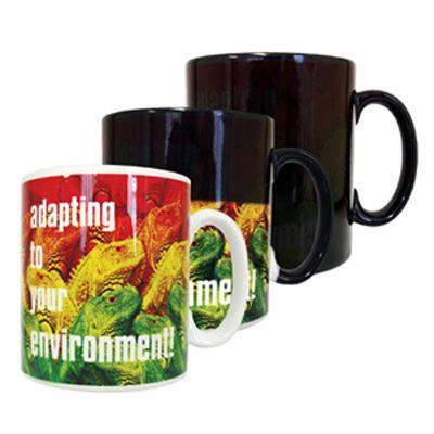 Dye Sub Heat Change Mugs
