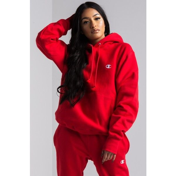 34430af37 Champion Women's Reverse Weave Pullover Hoodie ($55) ❤ liked on ...