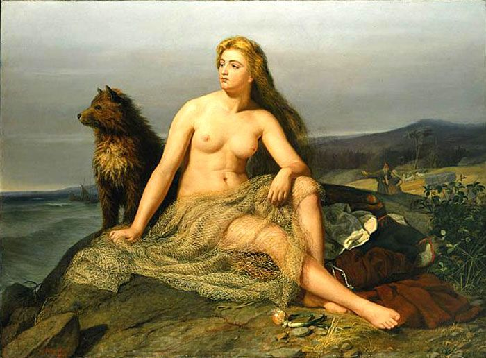Kraka by Winge - Kraka (målning) – Wikipedia