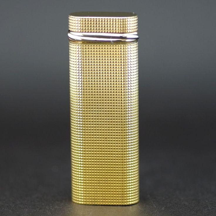 【中古】Cartier(カルティエ) トリニティ ゴールド GP ライター/トリニティモチーフのついたカルティエらしい品のある逸品です。/新品同様・極美品・美品の中古ブランドライターを格安で提供いたします。