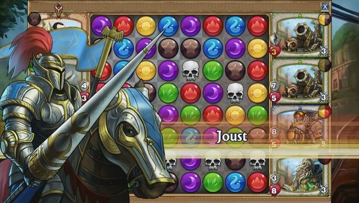 Gems of War is a Free-to-play Puzzle [match-3 puzzle] Role-Playing [RPG] hybrid Game a genre as deep as RPGs are married with one as seemingly shallow like match-3 puzzle