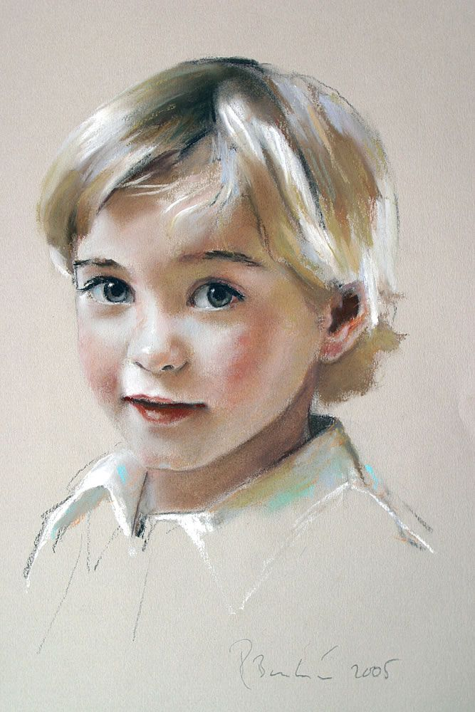 69 best pastel drawings images on pinterest celebrity portraits child portrait drawing by rob beckett ccuart Images