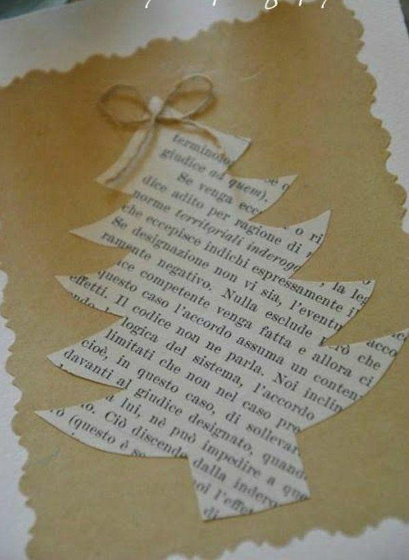 bastelideen seil weihnachten zeitung tannenbaum