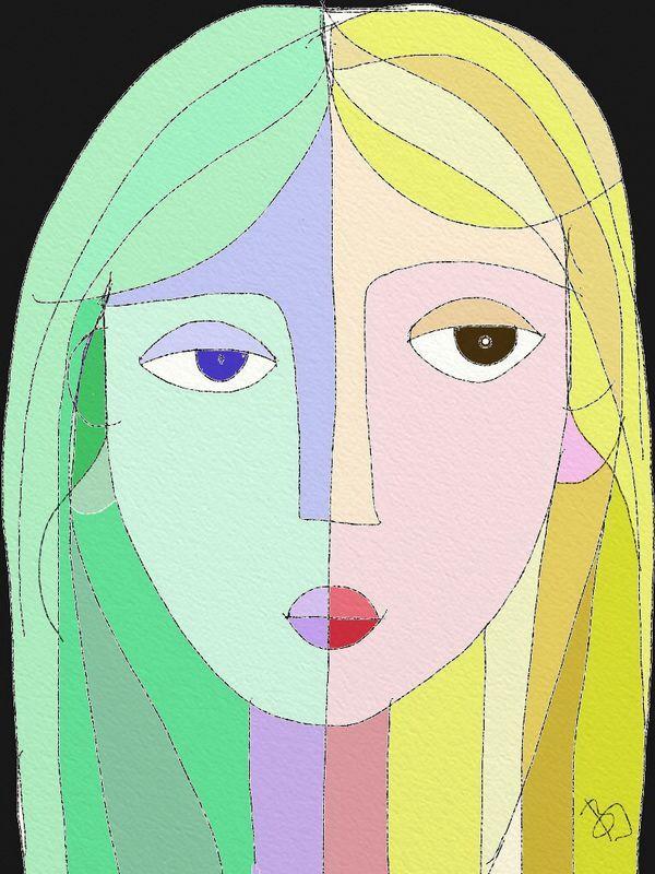 Girl variations 9. by BI