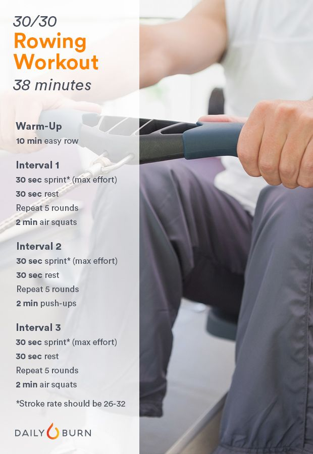 rower machine workout
