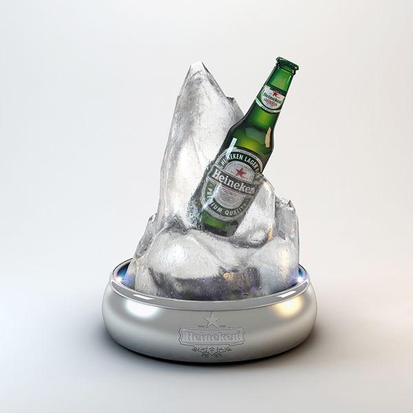 3D Point of Sale - Heineken Glorifier on Behance